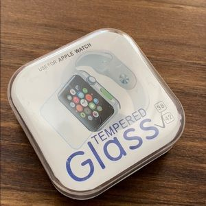 2 Tempered glass screen protector 42MM Apple watch